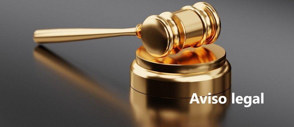 Aviso Legal - aspectos relacionados